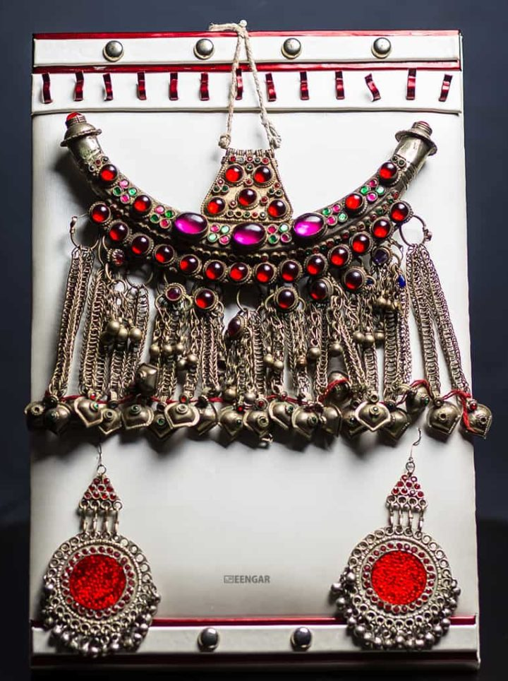 Tribal Choker Indie Belly Dance Necklace
