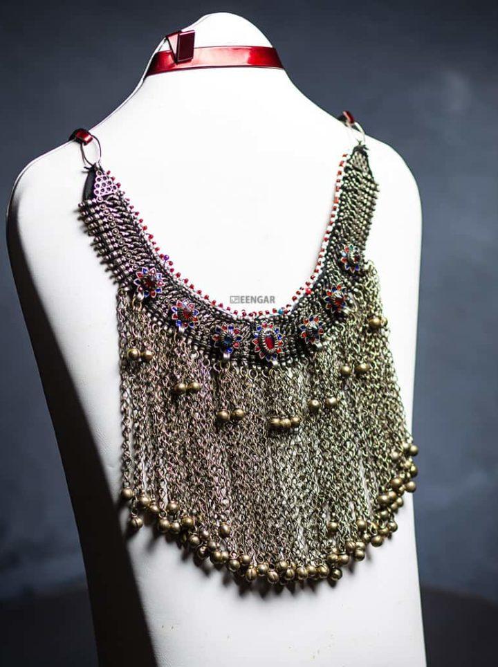 Afghan Gypsy Tribal Necklace